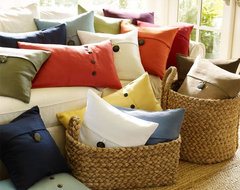Textured Linen Pillow Covers  pillows