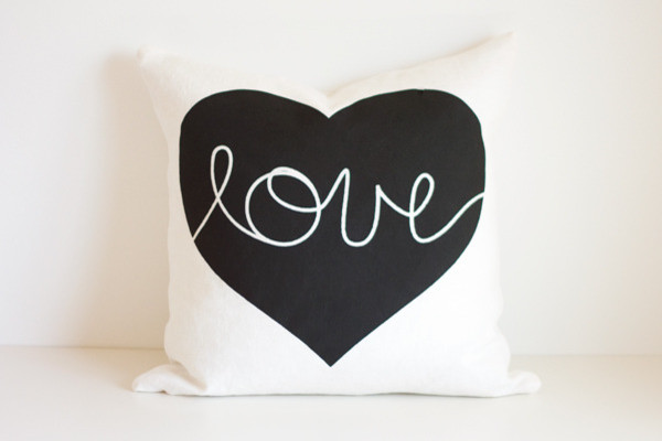 Heart Cushion Cover modern-decorative-pillows