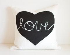 Heart Cushion Cover modern-pillows