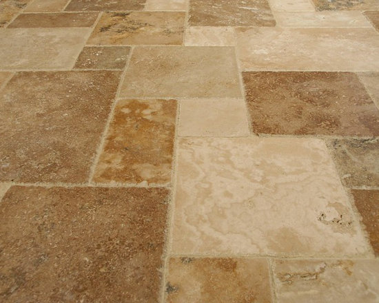 Elegant Earthstone Travertine Tile - Earthstone french pattern brushed travertine tiles imported direct from Turkey.   Travertine tile for your bathroom, living room, dining room or kitchen.  Travertine Tile located in New Jersey.