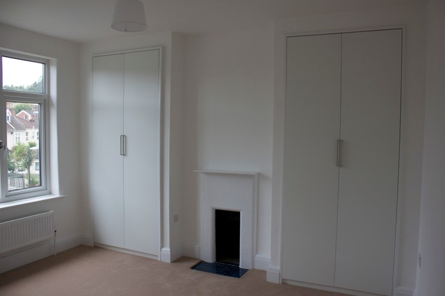 Refurbishment of 1930s semi traditional bedroom for Decorating 1930s house