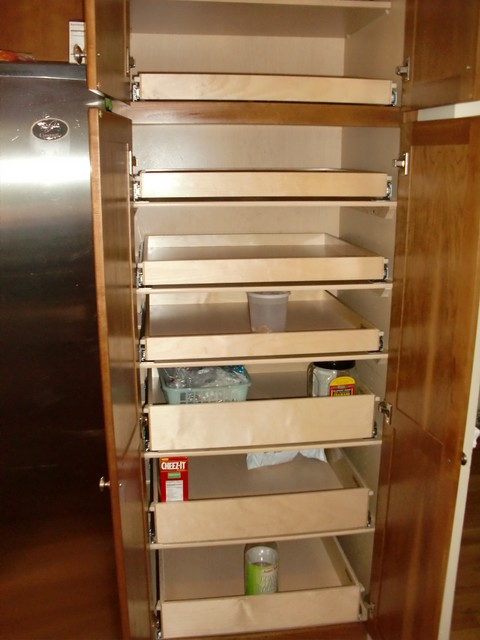 Cabinet Pantry Pull Out Shelves - boston - by ShelfGenie of ...