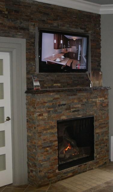 Custom Fireplaces contemporary