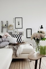 Embracing Cool Weather Texture: Furry Pillows, Throws and Rugs | Apartment Thera