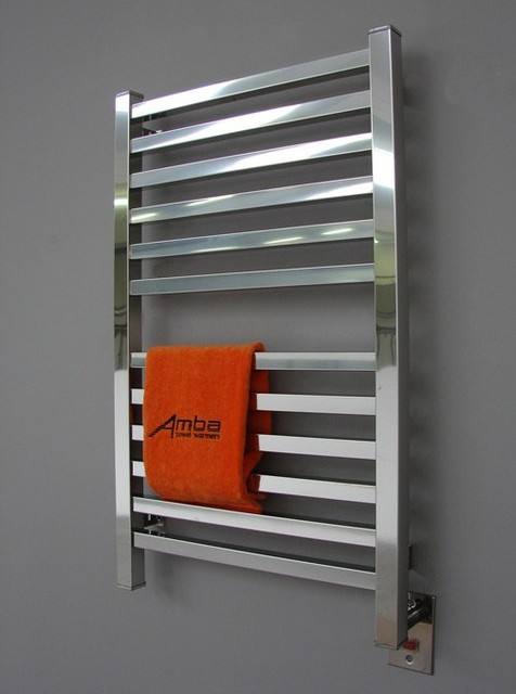 Amba Q 2033 Quadro Towel Warmer modern towel bars and hooks