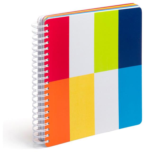 Five Subject Notebook, Fiesta modern-desk-accessories