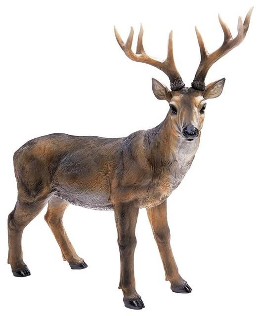 Design Toscano Big Rack Buck Deer Statue Multicolor