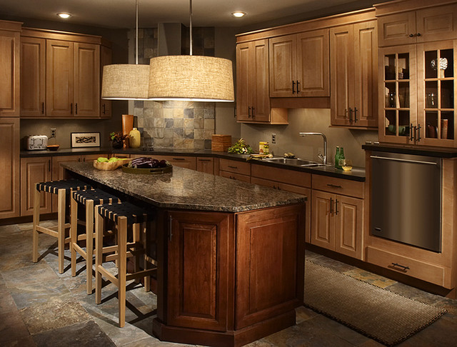 Maple kitchen cabinets cherry kitchen cabinets mendota door style