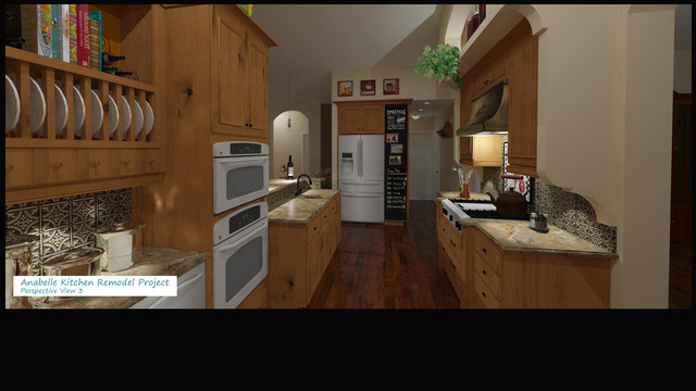 My Own Kitchen Remodel traditional-rendering