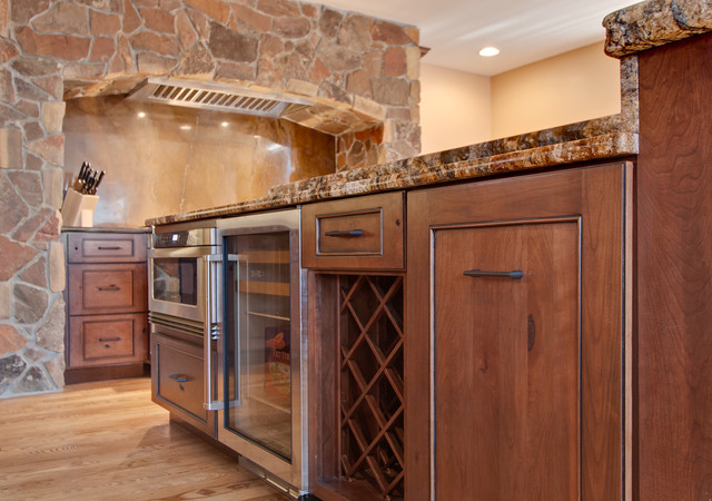 Powder River Remodel traditional-kitchen-cabinetry