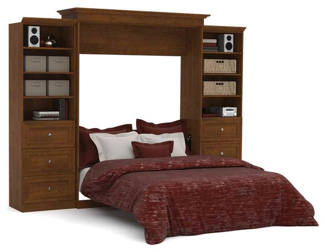 Queen Wall Bed And Storage Units With Drawers In Tuscany