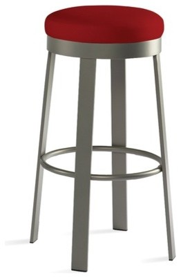 Svinn 26 Quot Steel Counter Stool With Fabric Seat Modern
