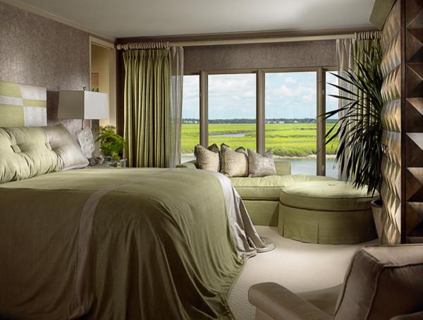 William R Eubanks Interior Design, Inc. traditional-bedroom