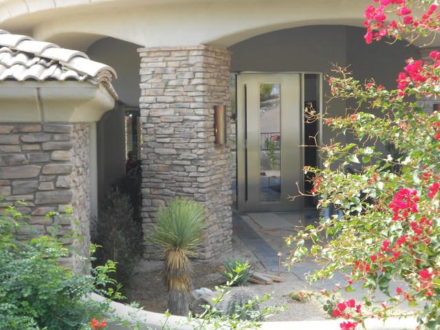 Paradise valley arizona modern front doors phoenix for Front door johnson valley