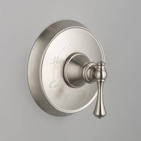 KOHLER K-T16117-4A-BN Revival Rite-Temp Pressure-Balancing Valve Trim with Tradi traditional-showers
