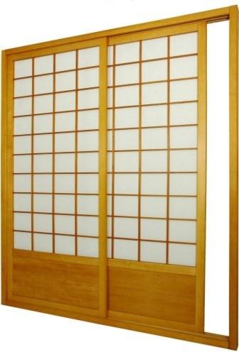 Shoji Sliding Door Kit Room Divider asian-screens-and-room-dividers