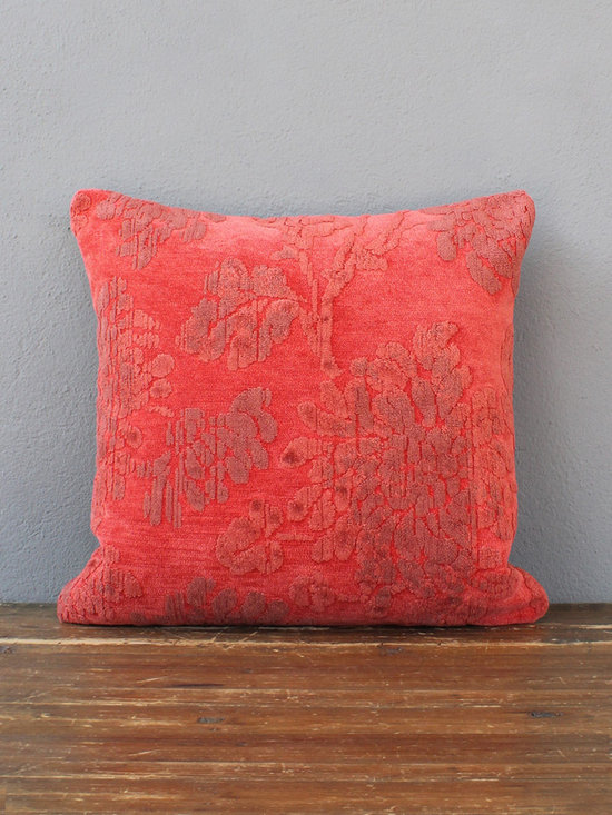 grizzly pillow – coral - view this item on our website for more information + purchasing availability: http://redinfred.com/shop/category/free-shipping/grizzley-pillow-coral/
