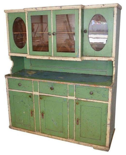 ... Green - $3,550 Est. Retail - $1,775 on Chai farmhouse-kitchen-cabinets