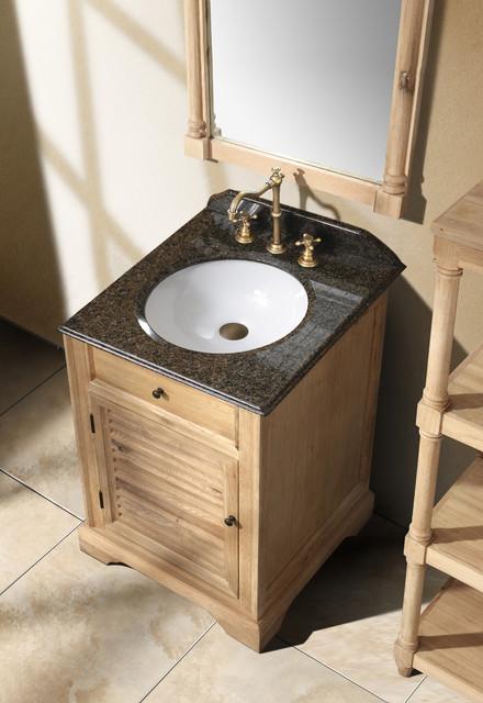 "23.75"" Prata Single Bath Vanity - Natural Oak traditional-bathroom-vanities-and-sink-consoles"