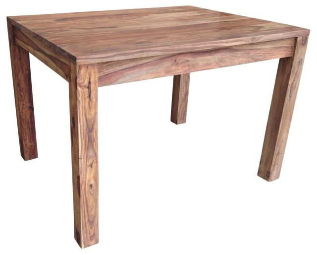 Unique Artisan Crafted Dining Table Dark Sheesham Rustic Dining Tables