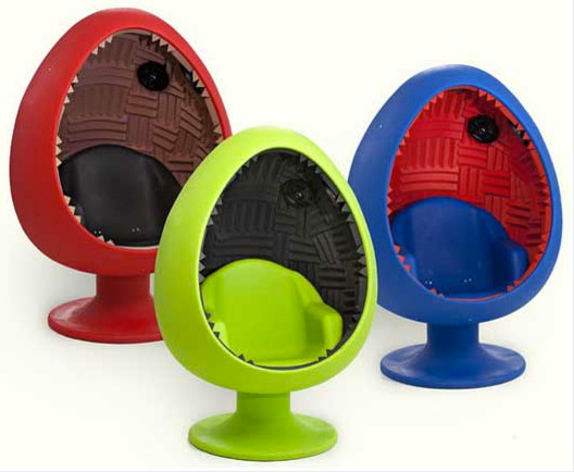 Sound Egg Chair contemporary-living-room-chairs