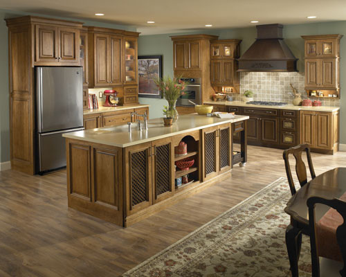 Schuler Cabinet Gallery - Traditional - Kitchen - chicago - by Schuler Cabinetry