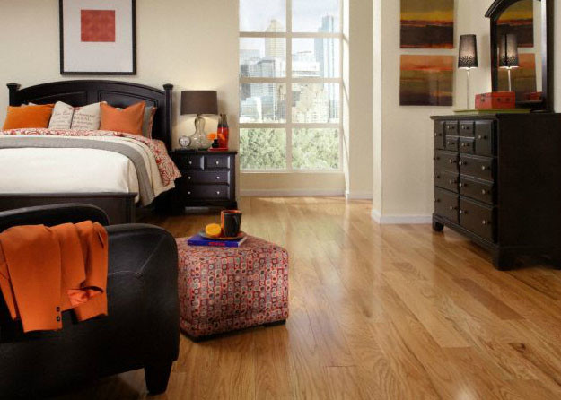 Bellawood rustic red oak hardwood flooring by lumber for Rustic red oak flooring