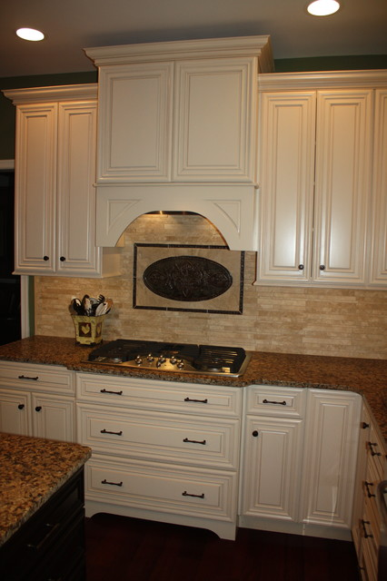 Comfy Kitchen Suite - traditional - kitchen hoods and vents