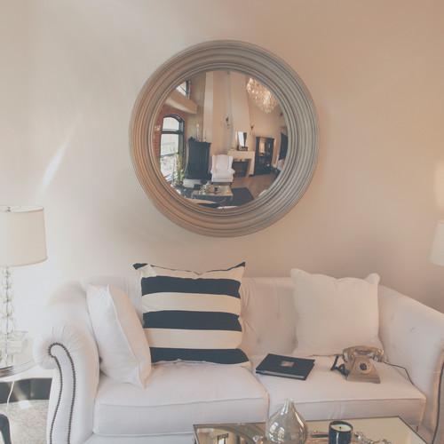 Lola convex wall mirror modern accessories and