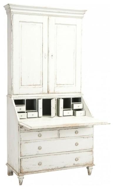Secretary Bureau Bookcase - Traditional - Desks And Hutches - by Safavieh