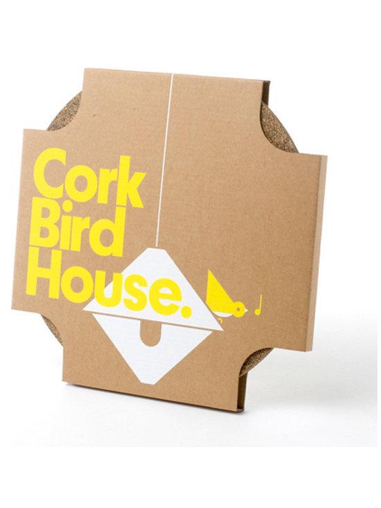Cork Birdhouse -