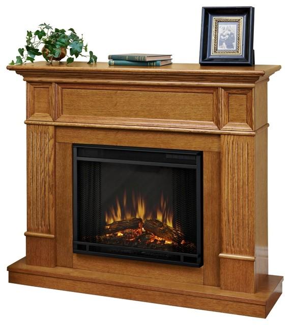 real flame camden light oak mantel electric fireplace. Black Bedroom Furniture Sets. Home Design Ideas