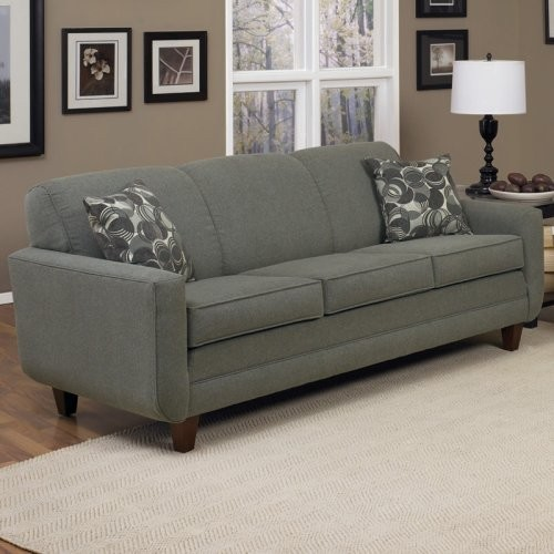 Charles Schneider Webber Gray Fabric Sofa With Accent