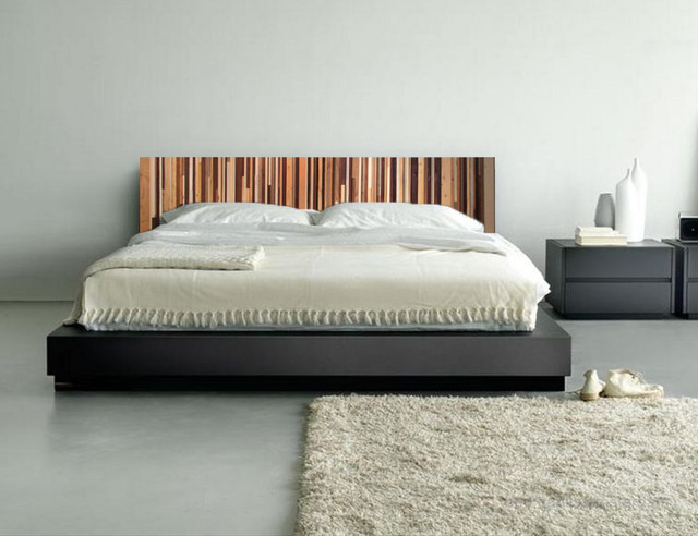 wood king headboard modern headboards seattle by scrap wood