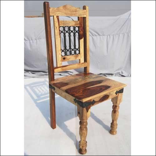 vandana wood wrought iron kitchen dining chair armchairs