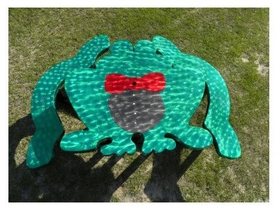 OFab Kid's Frog Picnic Table modern-changing-tables