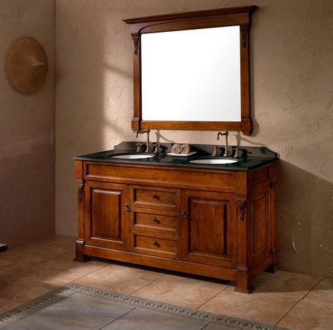 Solid Wood Bathroom Vanities From James Martin Furniture Traditional