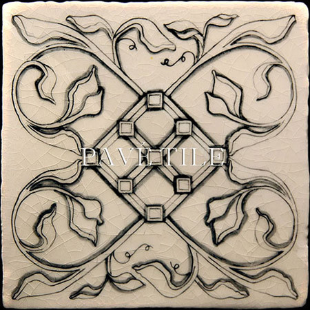 Old World Crackle Decorative Wall Tile™ traditional-tile