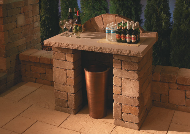 Compact Bar | Necessories™ ― Outdoor Living Kits modern-outdoor-tables