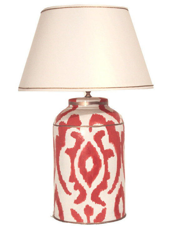 Large MagdaTea Caddy Lamp -
