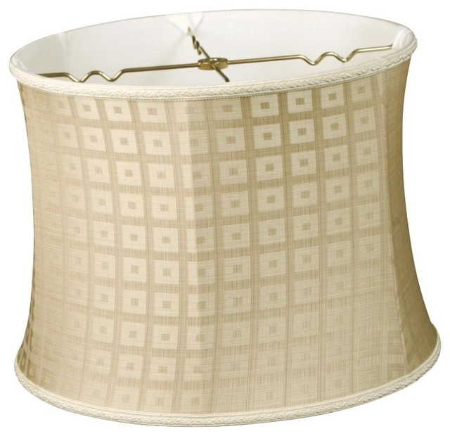 Bell Drum Designer Lampshade traditional-lamp-shades
