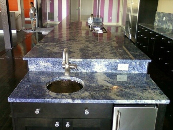 Azul Bahia Raised Bar With Drop Down Bar Sink