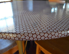 How to Apply Oilcloth eclectic 