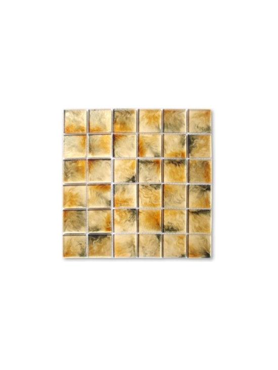 Lada 2x2 glass tile mosaic Splendor collection - Splendor glass tile mosaic 2x2