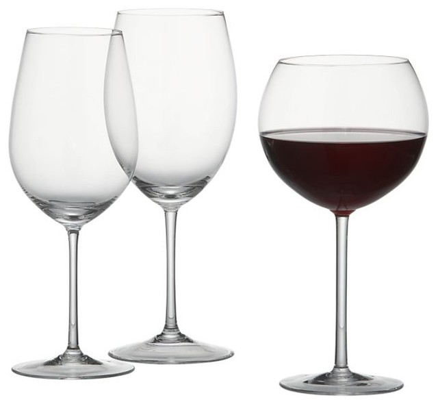 Vineyard Wine Glasses traditional-everyday-glassware