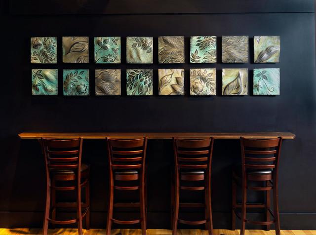 Fireworks Restaurant, tile murals
