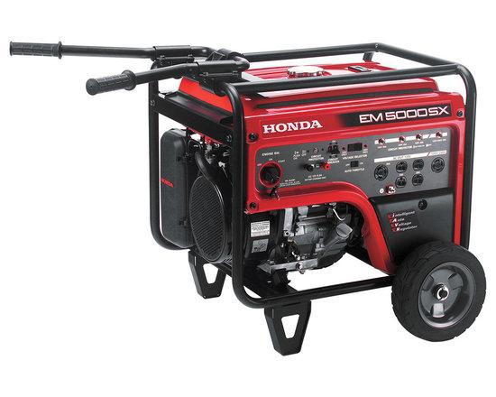 Honda EM5000S Deluxe 5000 Watt Portable Generator -