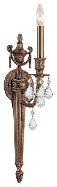 Crystorama Arlington Collection 24&quot; High Wall Sconce traditional wall sconces