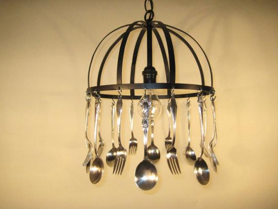 Silverware Chandelier chandeliers