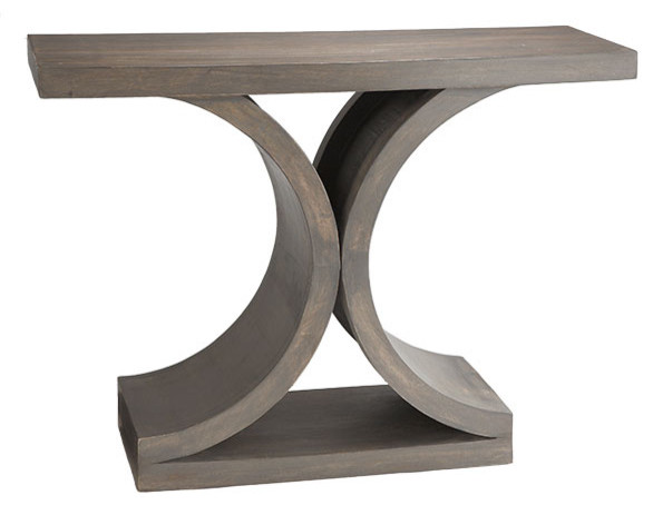 Mid-Century Modern Console Table traditional-indoor-pub-and-bistro-tables